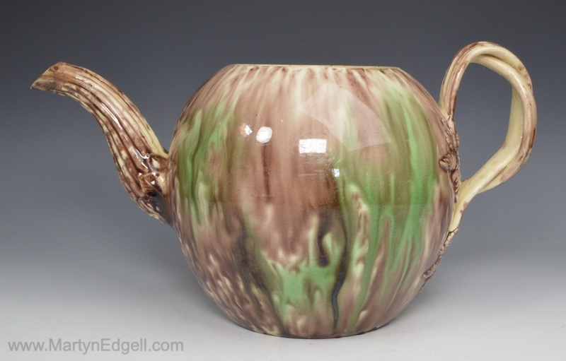 Whieldon teapot