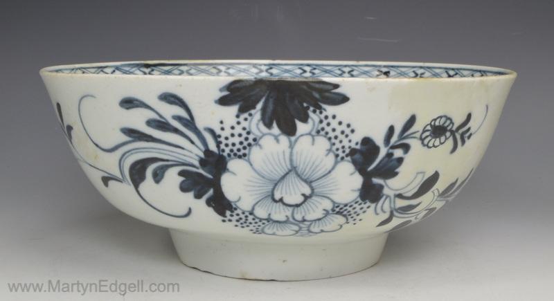 Liverpool porcelain bowl