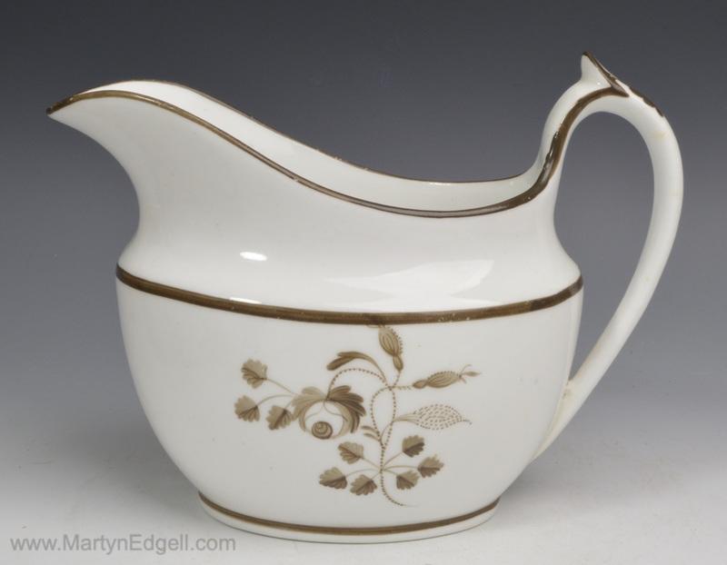 English porcelain creamer