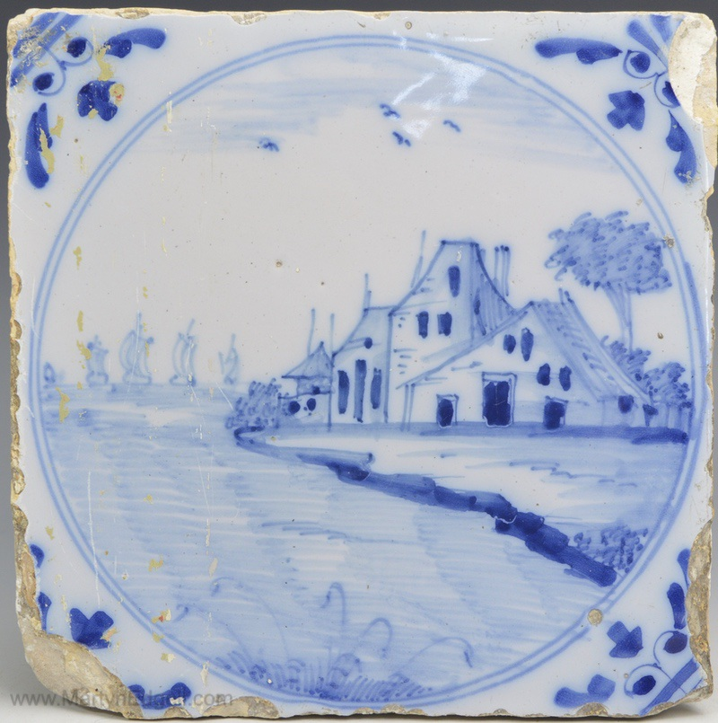 London delft tile