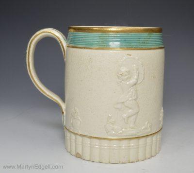 Staffordshire stoneware mug