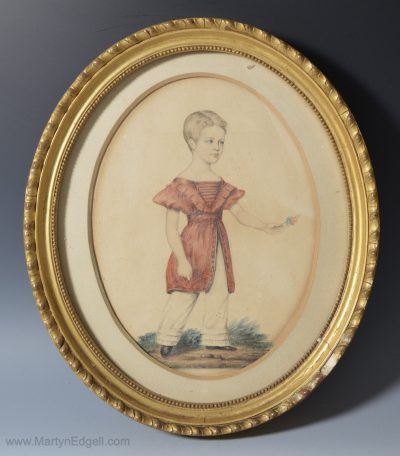 English antique watercolour