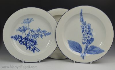 Wedgwood pearlware plates