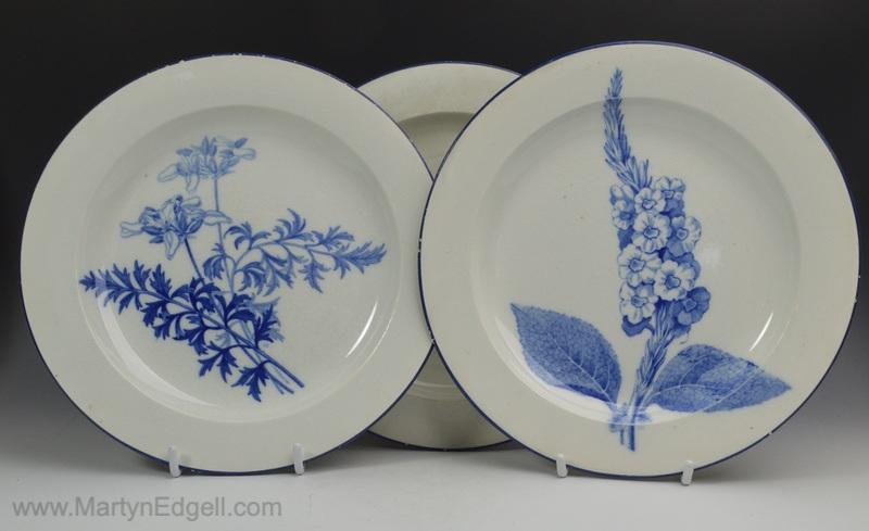 Wedgwood pearlware plates