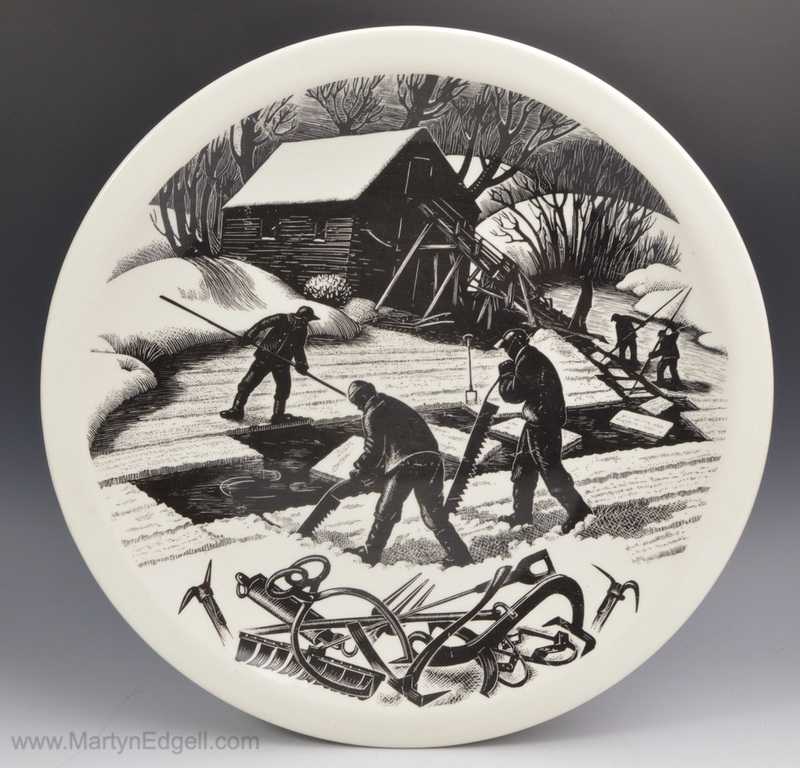 Claire Leighton plate