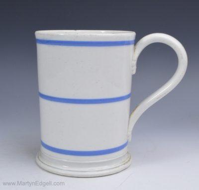 Pearlware mocha mug