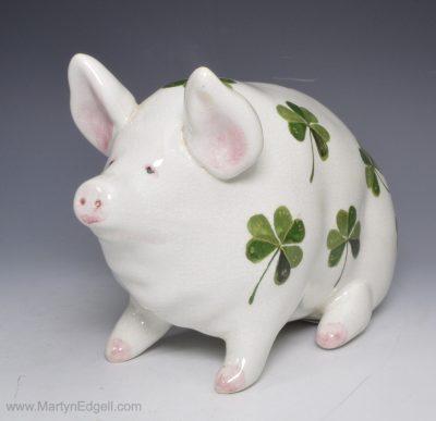 Wemyss pottery pig