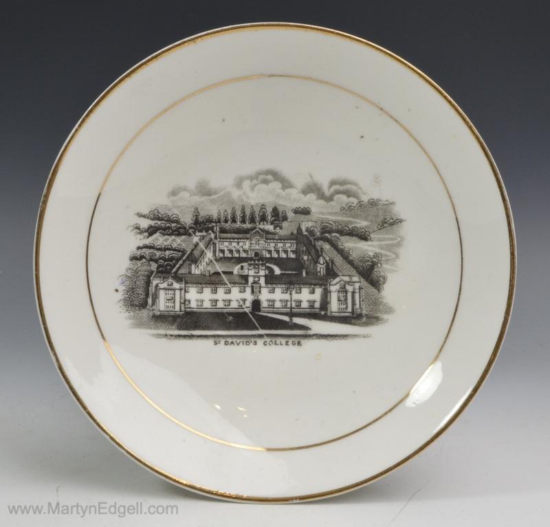 Antique porcelain saucer