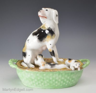 Staffordshire porcelain dogs