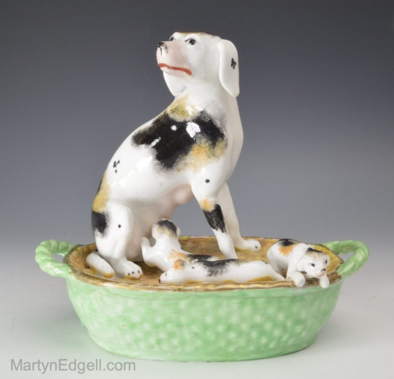 Staffordshire porcelain dogs