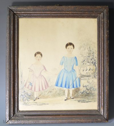 Naive watercolour children