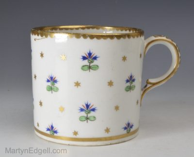 Derby porcelain coffee can