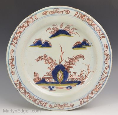 Vauxhall Delft plate