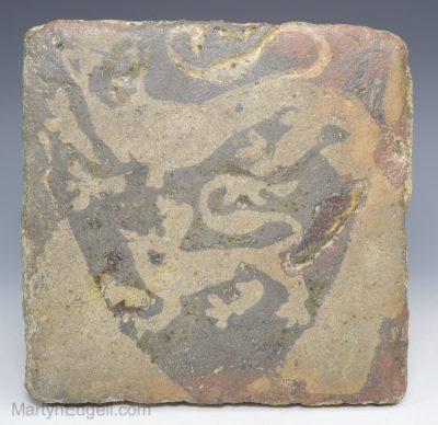 Medieval encaustic tile
