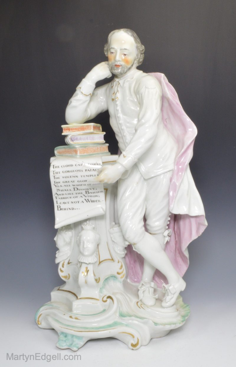 Derby porcelain Shakespeare