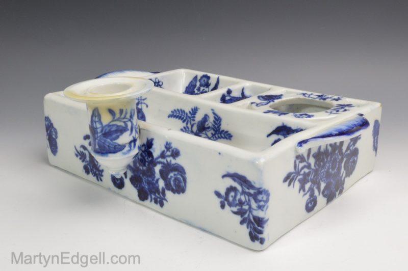 Coalport porcelain desk set