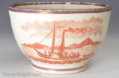 Pearlware teabowl