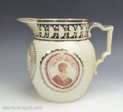 Theatrical commemorative jug