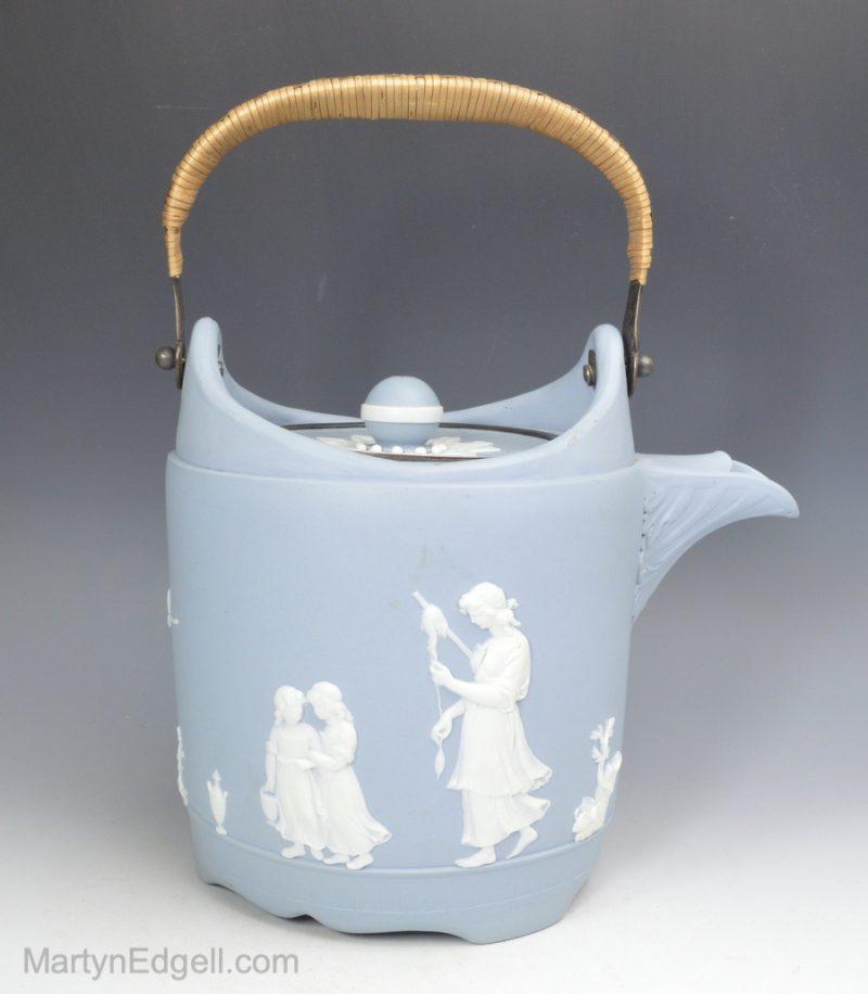 Wedgwood jasper kettle