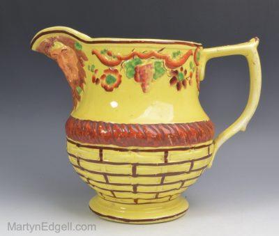 Canary yellow jug