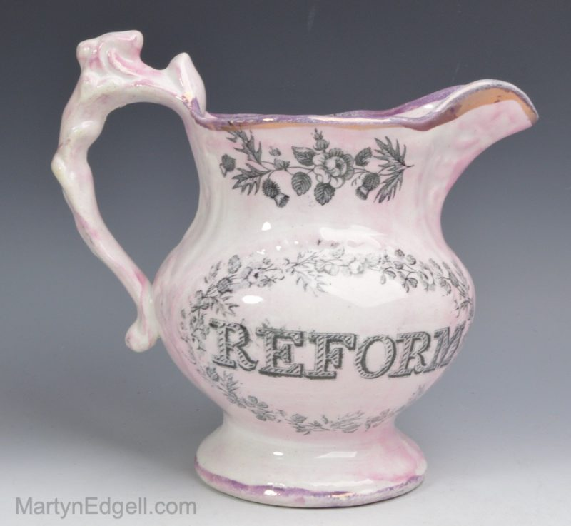 Commemorative Reform jug