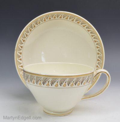 Wedgwood creamware cup & saucer