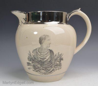 Wellington commemorative jug