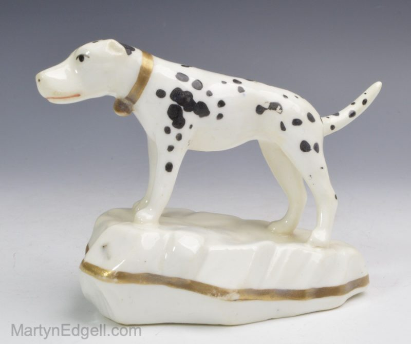 Staffordshire porcelain Dalmatian