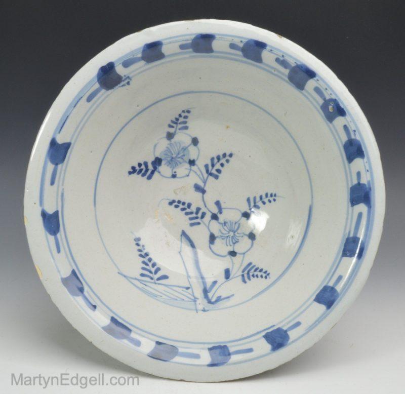 London Delft bowl