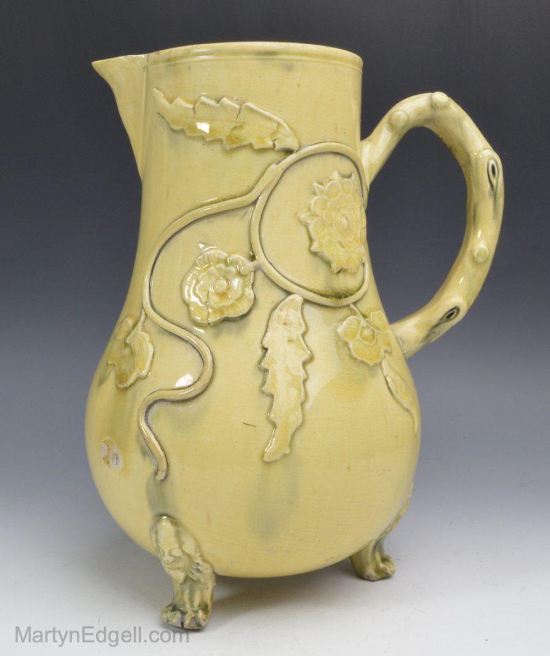 Creamware serving jug
