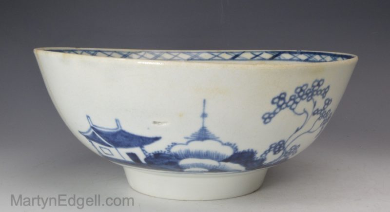 Liverpool porcelain bowl