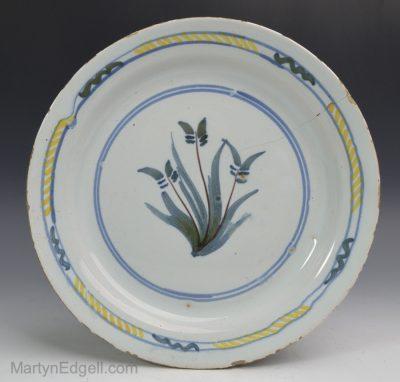 London Delft plate