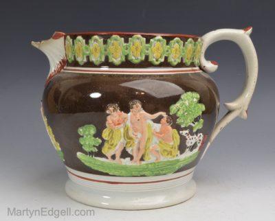 Pearlware jug