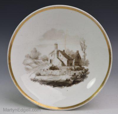 Spode porcelain saucer