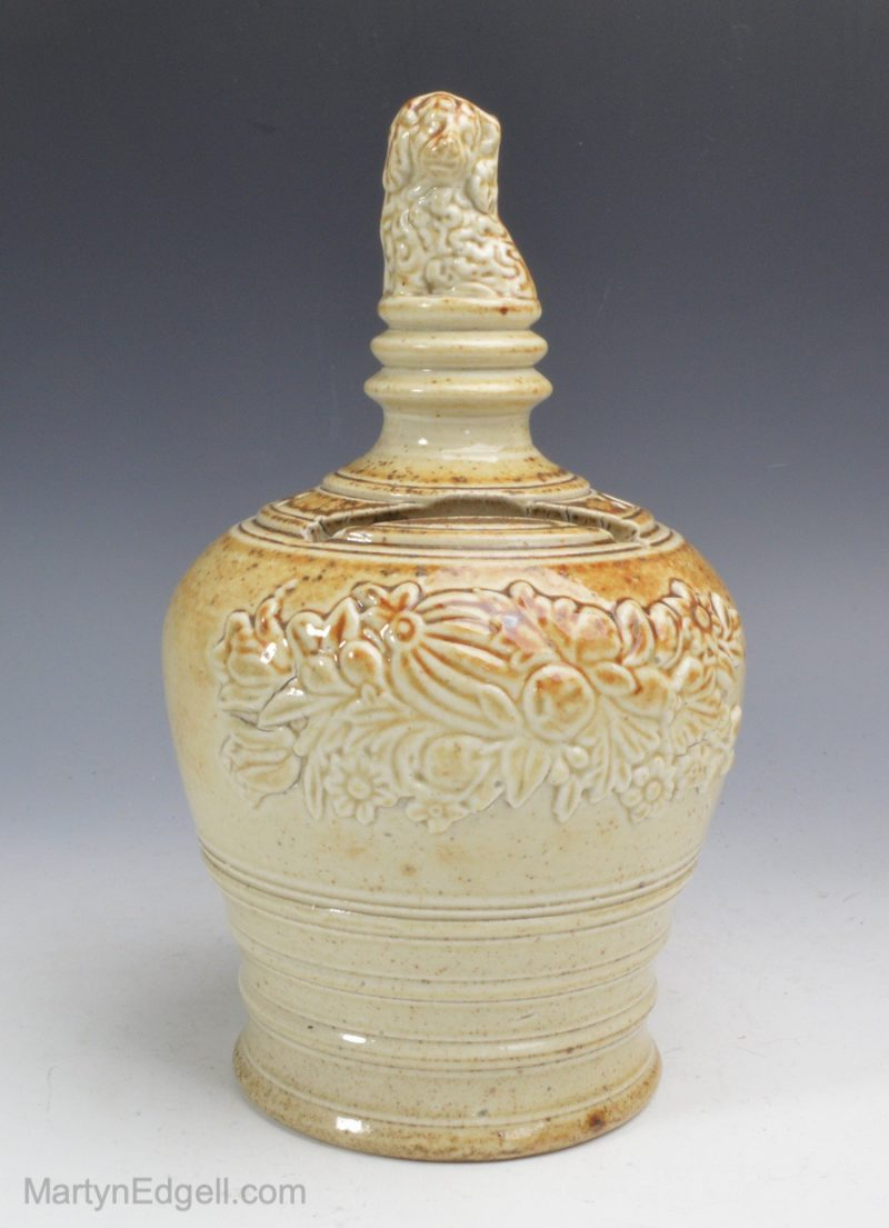Brampton saltglaze money bank