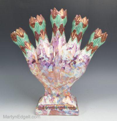 Lustre quintal vase