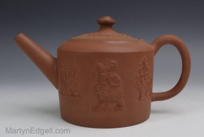 Staffordshire redware teapot