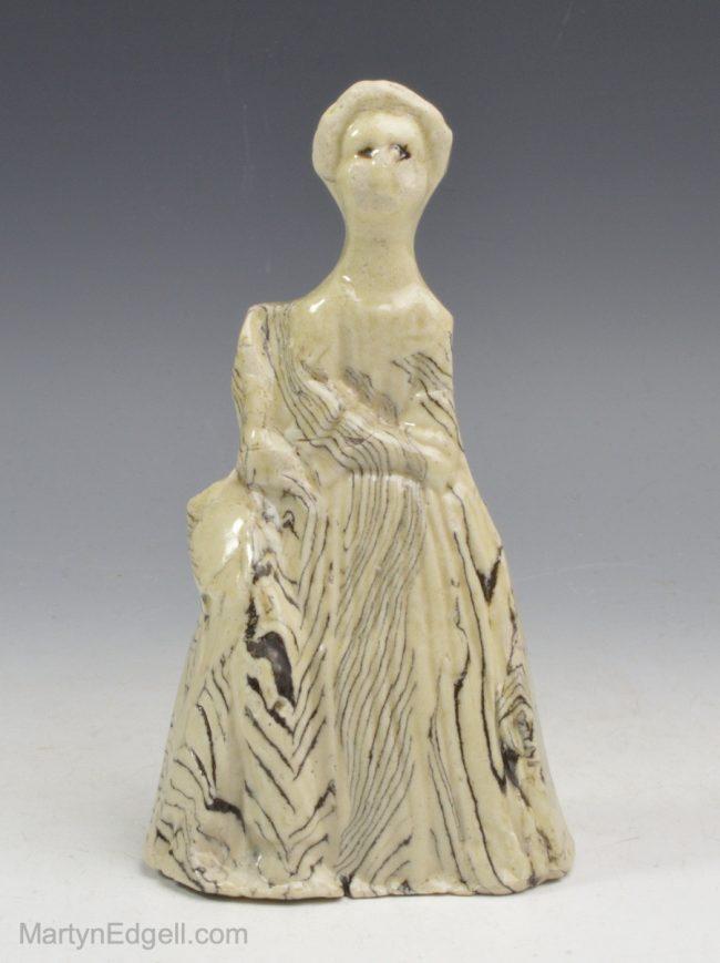 Agate ware figure