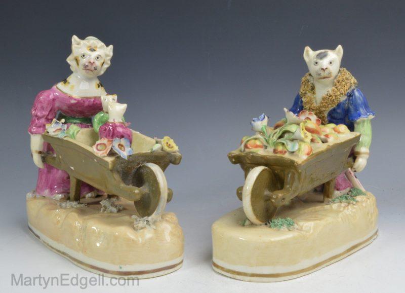 Alcock porcelain cats