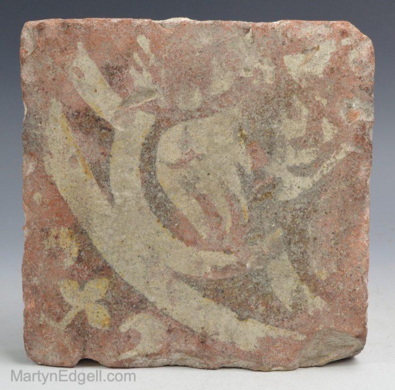 English medieval tile
