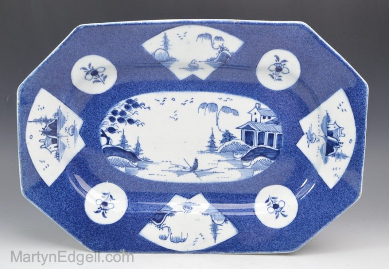 Bow porcelain meat plate