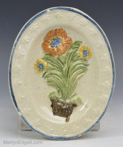 Child's toy pearlware plate