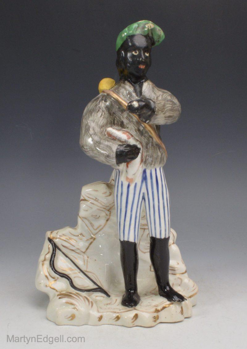 Antique porcelain figure