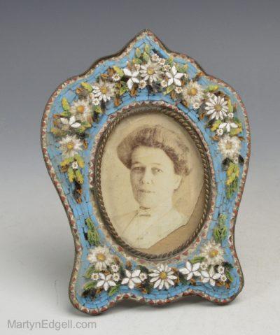 Mosaic glass frame
