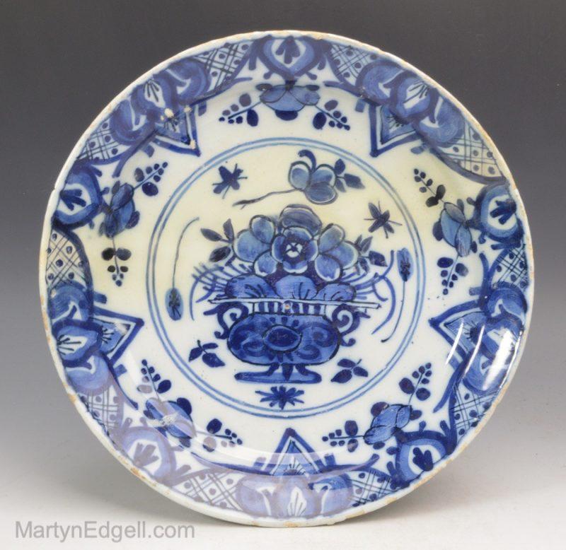 Dutch Delft saucer