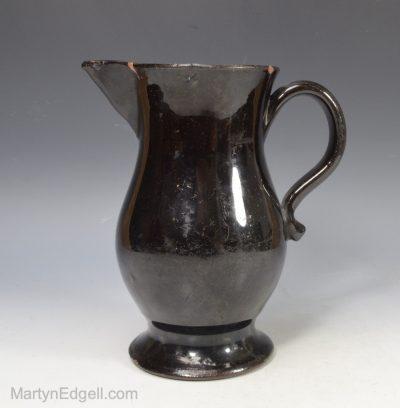 Jackfield black jug