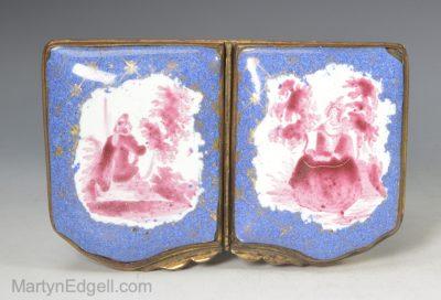 French enamel box