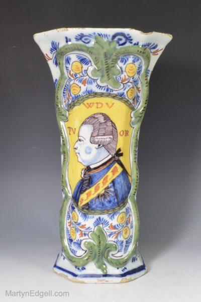 Dutch Delft vase