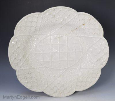 Saltglaze stoneware dish