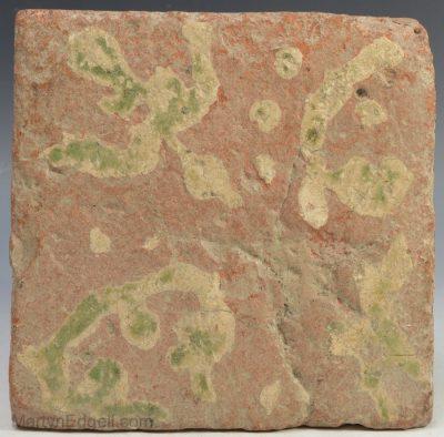 Late medieval floor tile